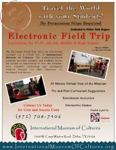 Electronic Field Trip International Museum of Cultures