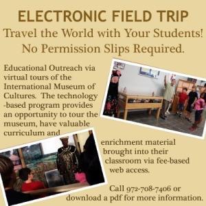 Electronic Field Trip at the International Museum of Cultures