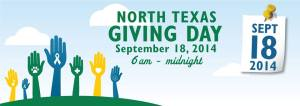 NTX Giving Day - Sept 18